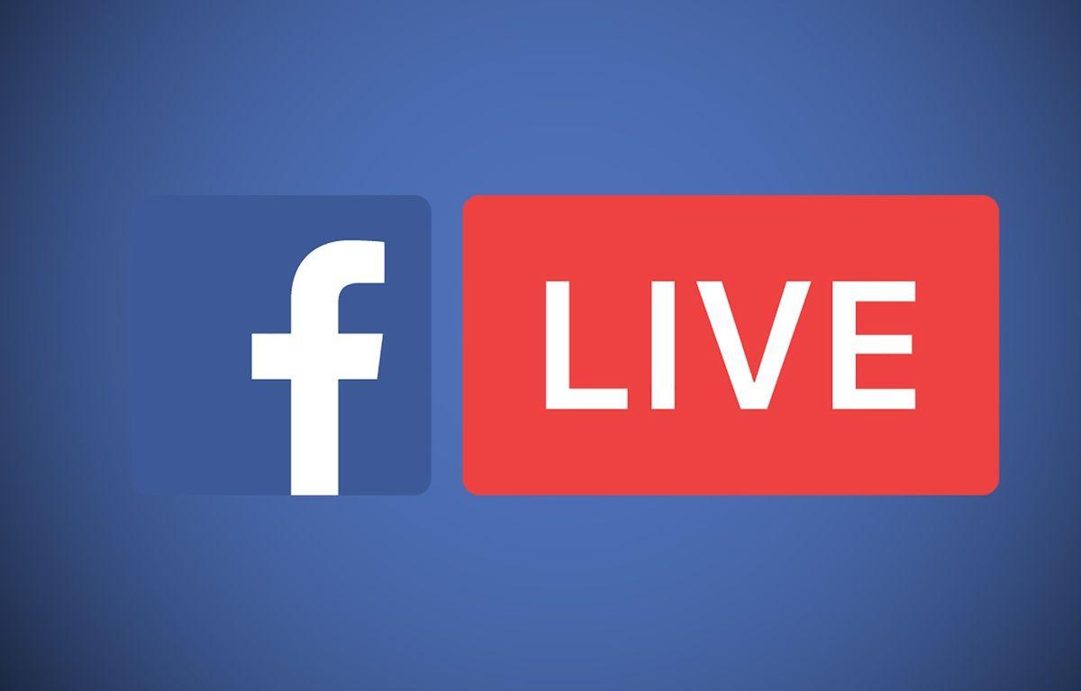 Le logo du service de vidéos en direct de Facebook – DR