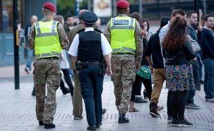 Illustration de la police militaire royale britannique