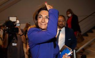 Martine Vassal avait renoncé à être candidate à la mairie de Marseille.