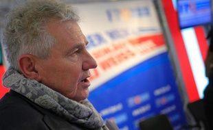 Le candidat du parti autrichien d'extrême-droite FPÖ aux élections européennes Andreas Mölzer, le 18 novembre 2013 à Vienne