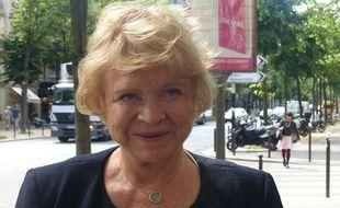 L'eurodéputée Eva Joly est candidate Europe Ecologie pour les élections européennes du dimanche 25 mai 2014.
