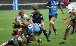 Les rugbywomen de Montpellier sont sextuples championnes de France.