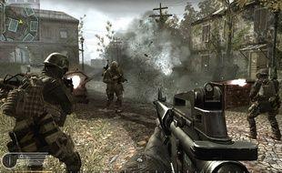 Call of Duty est l'un des jeux vidéo de type FPS les plus connus.