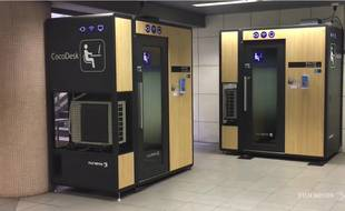Des cabines pour le télétravail dans les gares de métro