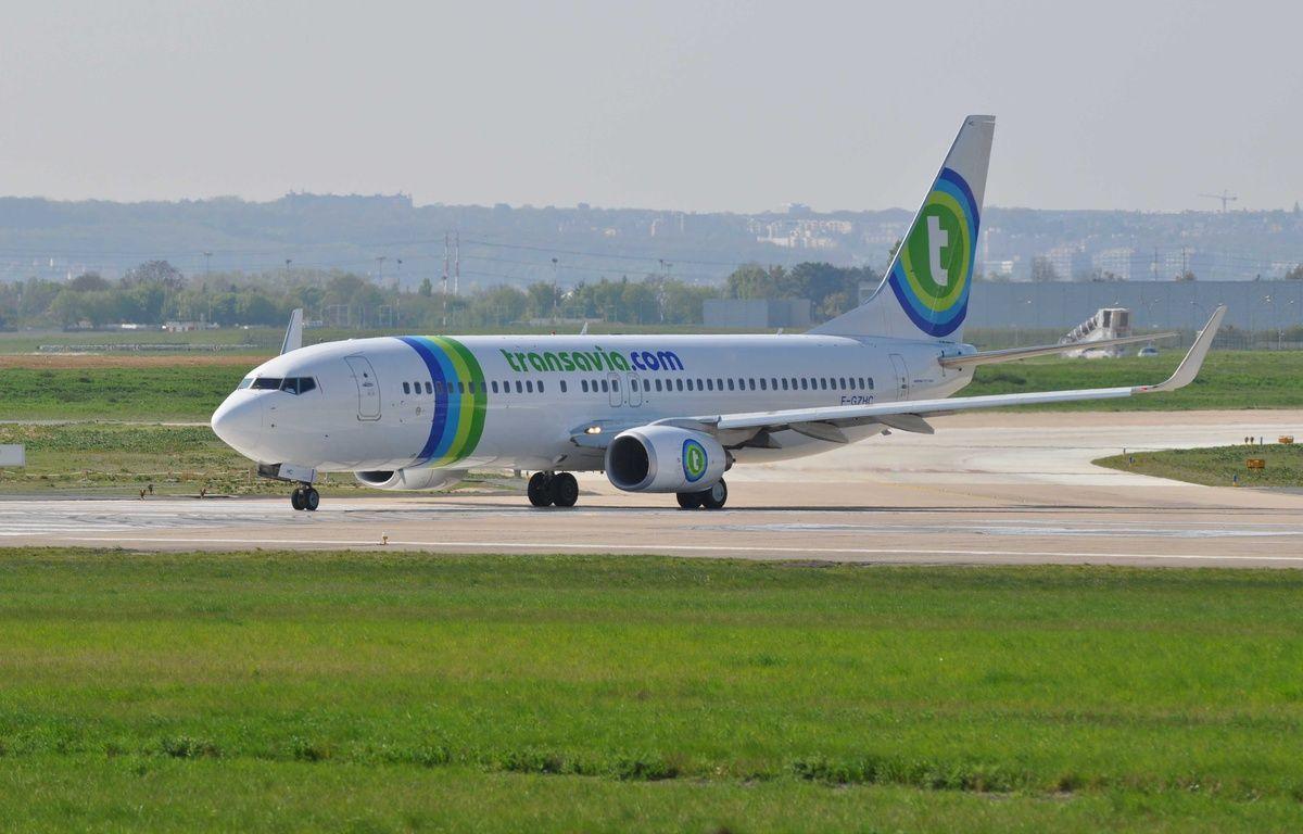 Avion Transavia, Orly. – IBO/SIPA