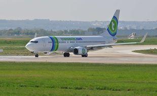 Avion Transavia, Orly.