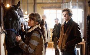 La relation particulière entre l'Homme et l'animal est mise en avant dans de nombreux films. Ici Jappeloup, sorti en 2013.