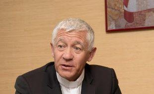 L'archevêque de Strasbourg Luc Ravel