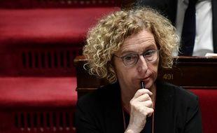 Muriel Pénicaud sur le banc des ministres à l'Assemblée nationale (illustration).