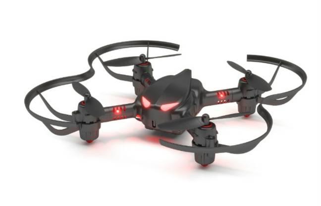Plus tout à fait un jouet, ce mini-drone a la possibilité d'évoluer pour élargir ses fonctionnalités.