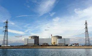 La centrale nucléaire de Fessenheim le 14 mars 2011