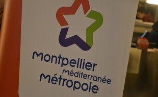 Le logo de la métropole de Montpellier (illustration)