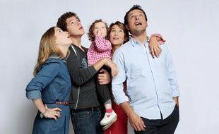 """La famille Bouley dans """"Fais pas ci, fais pas ça"""" sur France 2."""