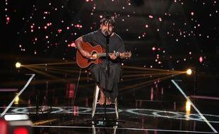 Gulaan lors de sa première prestation dans «The Voice».