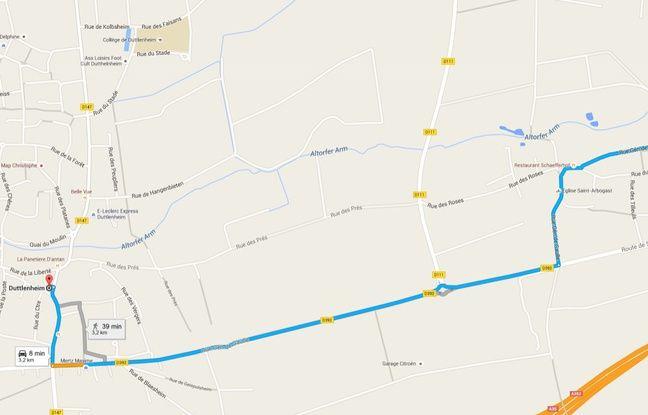 Trois kilomètres séparent Duttlenheim, le village natal d'Arsène Wenger, du stade Arsène Wenger à Duppigheim dans le Bas-Rhin (Alsace).