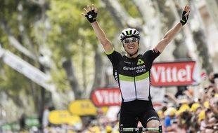 Edvald Boasson Hagen remporte la 19e étape du Tour de France 2017.