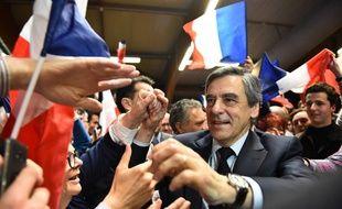 François Fillon lors de la campagne présidentielle