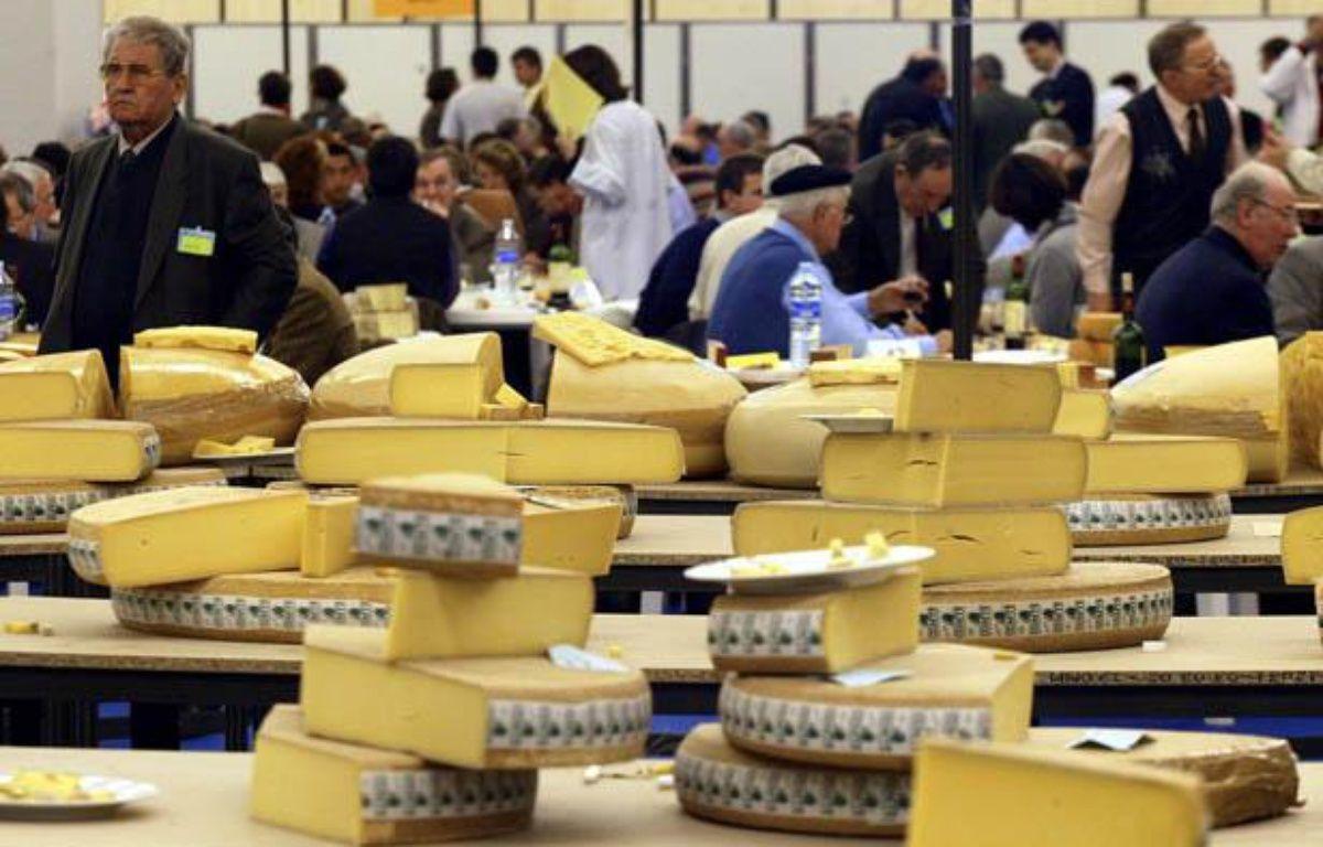 Vue du Concours général agricole à Paris en 2002 – FRANCOIS GUILLOT / AFP