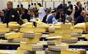 Vue du Concours général agricole à Paris en 2002