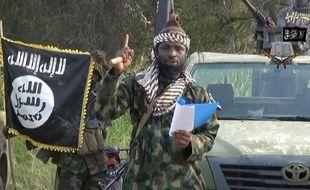 Capture d'écran réalisée le 2 octobre 2014 d'une vidéo de Boko Haram montrant son chef, Abubakar Shekau
