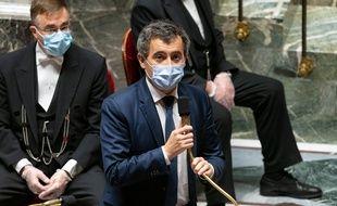 Gérald Darmanin à l'Assemblée nationale, le 17 novembre 2020. (illustration)