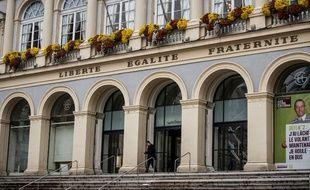 La façade de la mairie de Saint-Etienne.