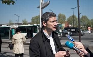 Christophe Nadjovski le 16 avril 2014 à Paris.
