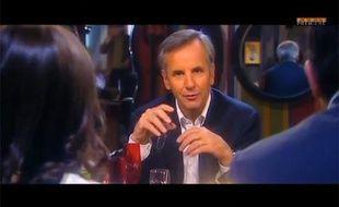 Bernard de la Villardière dans l'émission «17e sans ascenseur» sur Paris Première le 16 mars 2013.