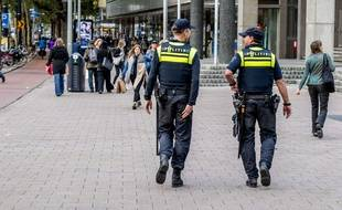 Des agents de police dans les rues de Rotterdam (illustration).