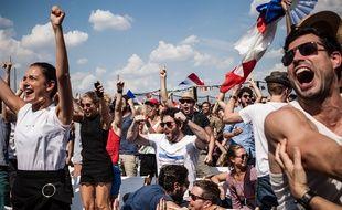 Faute de fan-zone à Lyon, les supporteurs des Bleus devront trouver d'autres solutions pour voir le match entre la France et la Belgique.  Crédit:Tristan Reynaud/SIPA