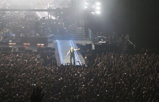 Depeche Mode en concert, à Bordeaux Métropole Arena, le 24 janvier 2018.