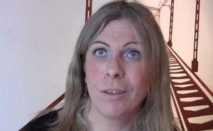 Capture d'écran d'une vidéo d'Ouest-France, publiée le 13 mars 2015. Sandrine, une mère trans, se bat pour la garde de son enfant.