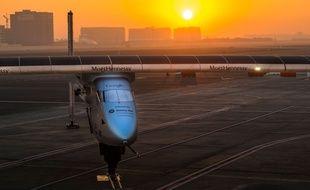 L'avion solaire Solar Impulse va effectuer un tour du monde par étapes.