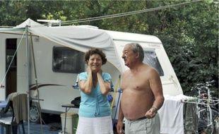 Claude et Michel se rendent au Camping Club d'Arcachon depuis quarante ans.