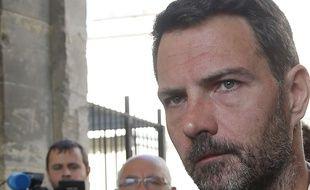 Jérôme Kerviel, ancien trader à la Société générale, le 23 septembre 2016 à la cour d'appel de Versailles.