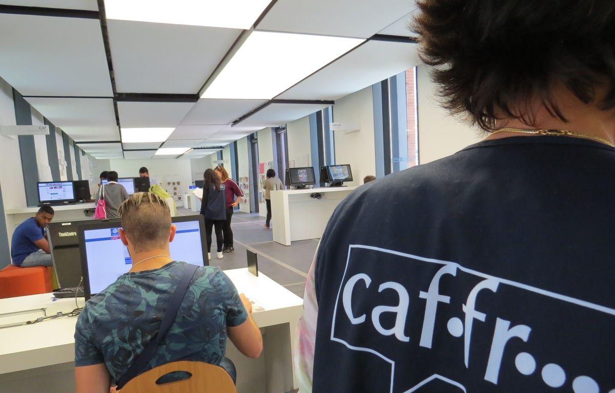 L'Accueil-Welcome Desk de l'Université de Toulouse situé au 41, allées Jules-Guesde. – B. Colin / 20 Minutes