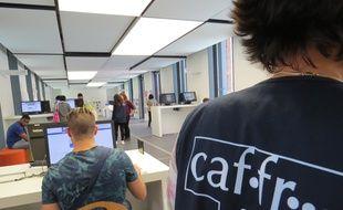 L'Accueil-Welcome Desk de l'Université de Toulouse situé au 41, allées Jules-Guesde.