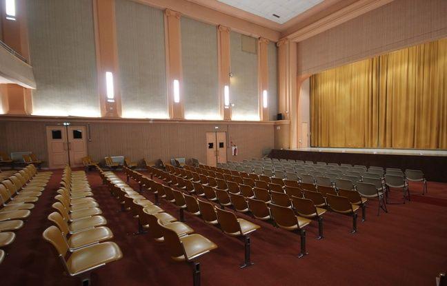 La salle Bretagne est l'un des 15 lieux nantais à réinventer.