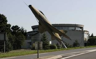 La base militaire 128 de Frescaty, au sud de l'agglomération de Metz (Moselle) a fermé entre 2008 et 2012. Illustration