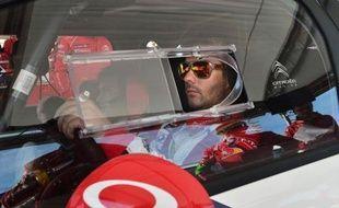 Sébastien Loeb (Citroën DS3) était en tête du rallye de Sardaigne, 12e et avant-dernière manche du Championnat du monde (WRC), jeudi soir à Olbia, devant son coéquipier Mikko Hirvonen, tous deux ayant signé les deux premiers temps scratch du rallye.