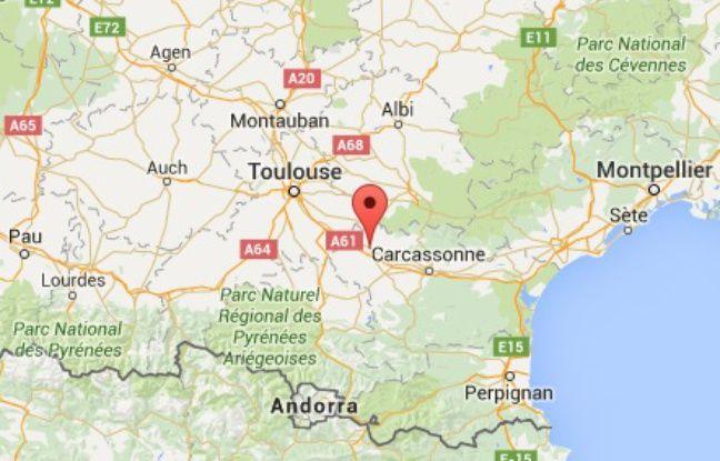Localisation de Castelnaudary (Aude)