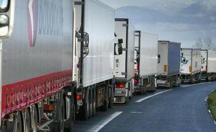 Le porte-parole du Collectif des transporteurs de Bretagne condamne les dégradations commises depuis plusieurs mois sur des dizaines de poids lourds venus des pays de l'Est