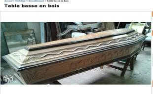 Comme Vend Un Cercueil Le Coin Table Bon BretagneIl Basse Sur mNv8n0w