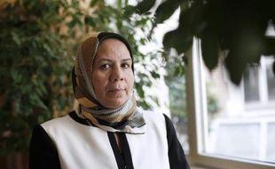 Latifa Ibn Ziaten, mère de la première victime de Mohamed Merah en mars 2012, le 11 juin 2014 à Paris