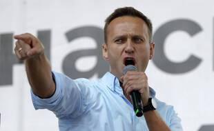 Alexei Navalny, le 20 juillet 2020 à Moscou.