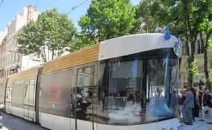 L tramway de la rue de Rome.