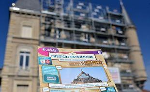 Le jeu de grattage «Mission patrimoine», initié par Stéphane Bern, a été lancé le 3 septembre 2018.