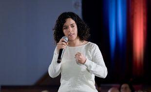 Manon Aubry, tête de liste de LFI aux européennes.