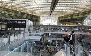 Le Forum des Halles à Paris, le 4 septembre 2017.