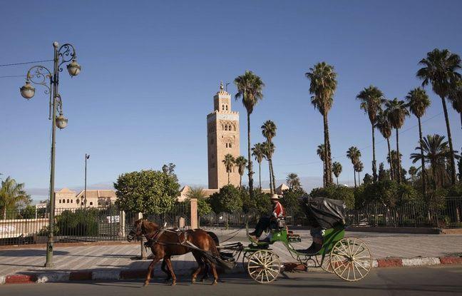Marrakech, au Maroc.
